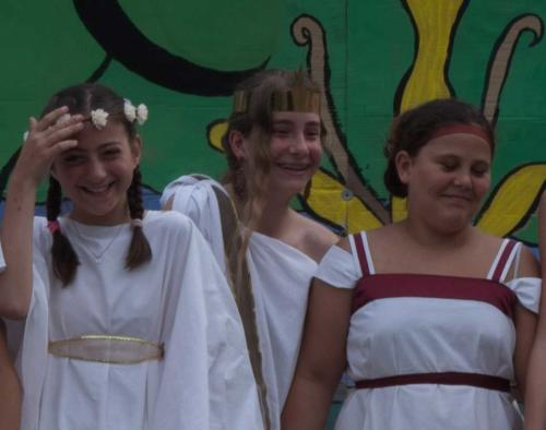 Biancamaria, Giorgia, Marta